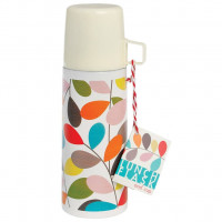 Thermosfles Vintage Ivy + Beker - 350 ml