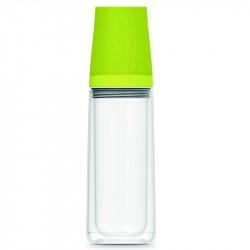 Aladdin Waterfles 0,75L (groen) incl. twee bekers