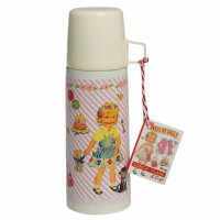 Thermosfles DressUp Doll + Beker - 350 ml