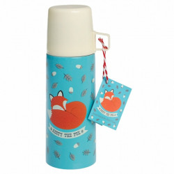 Thermosfles Rusty the Fox + Beker - 350 ml