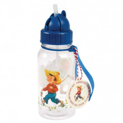 Kinder Waterfles Vintage Boy - 500 ml